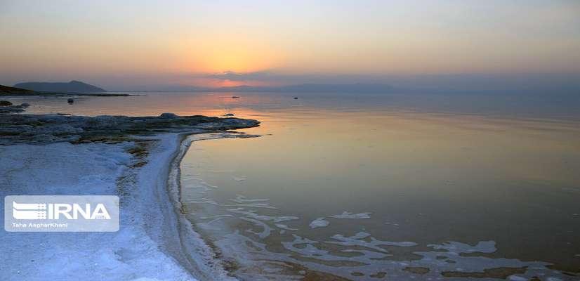دریاچه ارومیه ۱۱۳ سانتیمتر عمیقتر شد