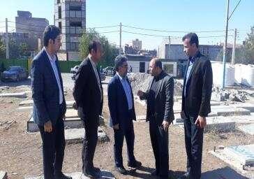 چهره منطقه ۱۰ تبریز با ساماندهی آرامستان ستارخان متحول میشود