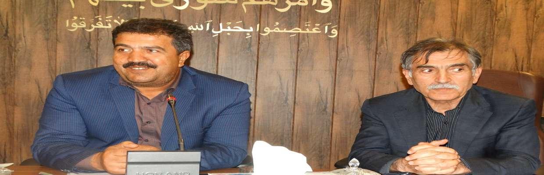 جلسه هم اندیشی اعضای شورای اسلامی شهر با دکتر عبدالرضا عباس زاده