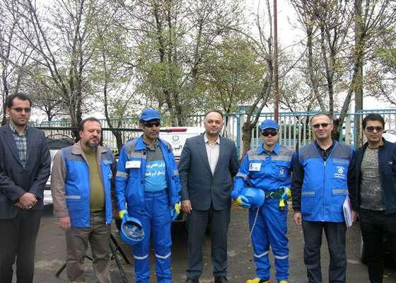 اولین دوره مسابقات فنی بهره برداری شركت آب و فاضلاب روستایی استان اردبیل برگزار شد