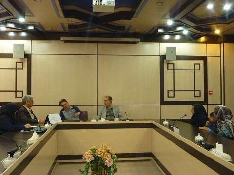 برگزاري برنامه ملاقات مردمي سرپرست شركت آب و فاضلاب استان مركزي در شركت آب وفاضلاب ساوه
