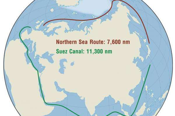 چشم طمع آمریکاییها به آبراه قطبی روسیه/ مناقشه داغ آمریکا با کانادا و چین بر سر آبراههای شمالی