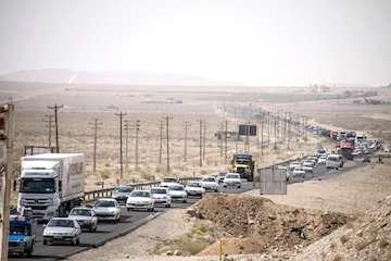 افزایش ۶.۹ درصدی تردد نسبت به روز قبل/ محدودیتهای ترافیکی تا بیست و هشتم مهرماه