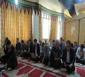 برگزاری مراسم سوگواری اربعین حسینی(ع) در آب و فاضل...
