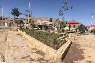 تحویل موقت پروژه احداث پارک عمومی محله باقرخان  ۲ به شهرداری بجنورد در خراسان شمالی