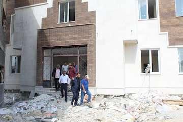 ساختمان کتابخانه عمومی محله بانبرز ایلام در آستانه بهره برداری