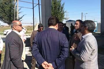از روند اجرایی پروژه احداث ساختمان پزشکی قانونی کردکوی بازدید کرد