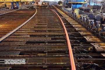 پروژه قطار برقی بهارستان –اصفهان، میزبان اولین محموله ریل تولید ملی/ ۴۰۰۰ تن ریل از ذوبآهن اصفهان خریداری میشود