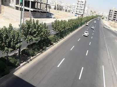 پروژه نرده گذاری بلوار شهید لشگری به اتمام رسید