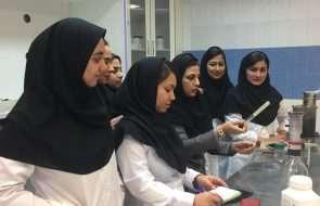 بازدید دانشجویان بهداشت محیط از آزمایشگاه امور آبفار سبزوار