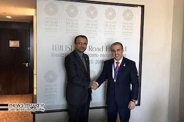 دیپلماسی حملونقل وزارت راه و شهرسازی در سومین اجلاس راه ابریشم تفلیس بررسی شد