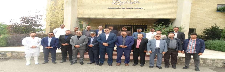 بازدید اعضای شورای اسلامی شهر از کشتارگاه سنندج
