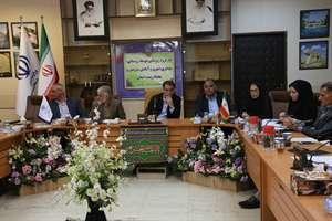 برگزاری دومین جلسه کارگروه زیربنایی، توسعه روستایی، عشایری و آمایش سرزمین و محیط زیست استان