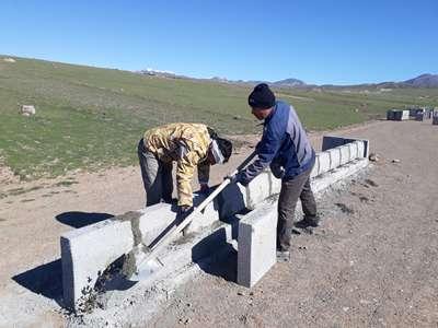 در سال جاری نزدیک به ۵ هزار متر در نواحی مختلف شهر قزوین جدول گذاری انجام شده است