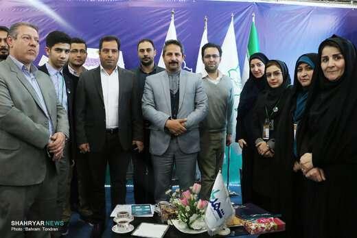 حضور شهردار تبریز در دهمین نمایشگاه مطبوعات تبریز