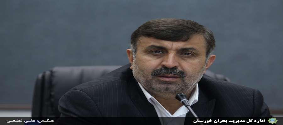 هشدارهای مدیریت بحران خوزستان در پی تقویت سامانه بارشی