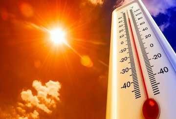 """""""میناب"""" و """"چالدران"""" گرمترین و خنکترین ایستگاههای هواشناسی کشور در ۲۴ ساعت گذشته"""