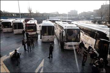 آغاز طرح جابجایی زائران مشهد مقدس از روز دوشنبه با ۶۰۰۰ دستگاه اتوبوس
