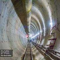 TBM تونل شرقي خط دوم قطار شهري اصفهان به ايستگاه زينبيه رسيد