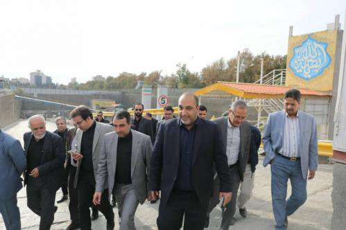 بهره برداری از ایستگاه میدان شهدا تا پایانه مسافربری خط3 در بهار 1400