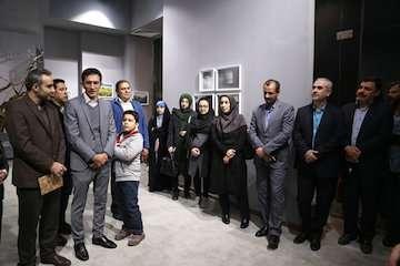 افتتاحیه نمایشگاه آثار مسابقه سراسری عکاسی سومین جشنواره ساختمان هاى برتر استان قزوین