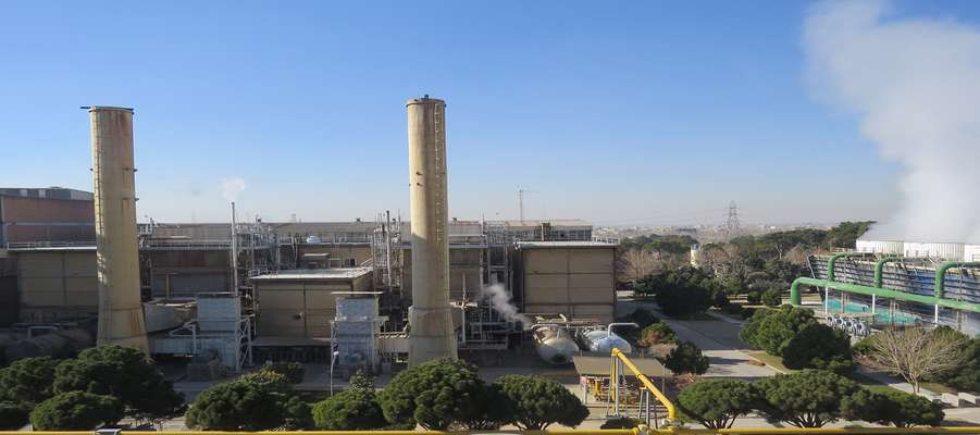 پایان عملیات تعمیرات دوره ای واحدهای 37/5 مگاواتی نیروگاه اصفهان