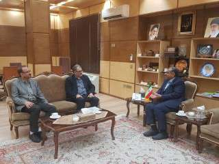 دیدار مدیر عامل شرکت برق منطقه ای زنجان با استاندار جدید