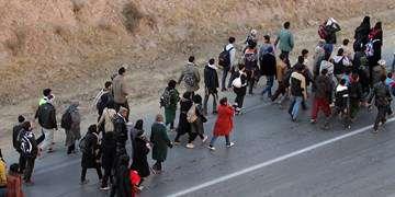 محدودیت ترافیکی در مسیر پیادهروی به سمت مشهد/تردد روان در محورهای تهران-شمال