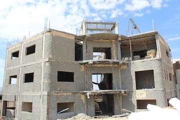 پیشرفت ۵۰ درصدی احداث ساختمان پایگاه خدمات اجتماعی  محله بانبرز شهر ایلام
