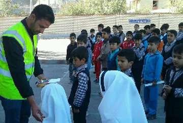 اجرای ارتقای ایمنی ترافیک در مدارس حاشیه راههای  آذربایجان شرقی