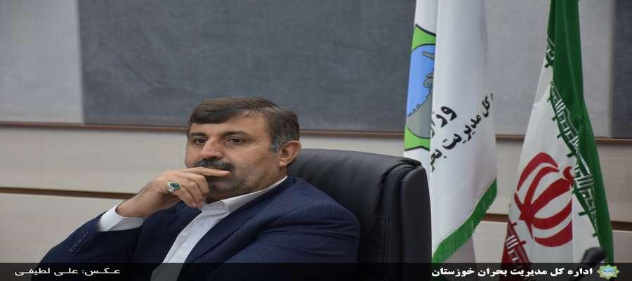 اولویت خوزستان در بحث سیل مسایل برجای مانده برای پیشگیری از سیلاب است