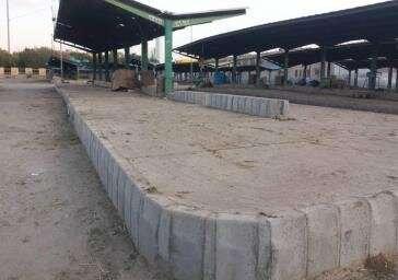 احداث سکوی جدید برای عرضه مستقیم سبزیجات برای صیفی کاران در سبزه میدان
