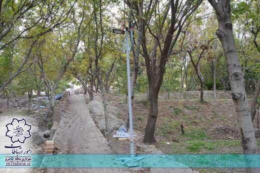 پروژه ساماندهی باغات رواسان در حال تکمیل است