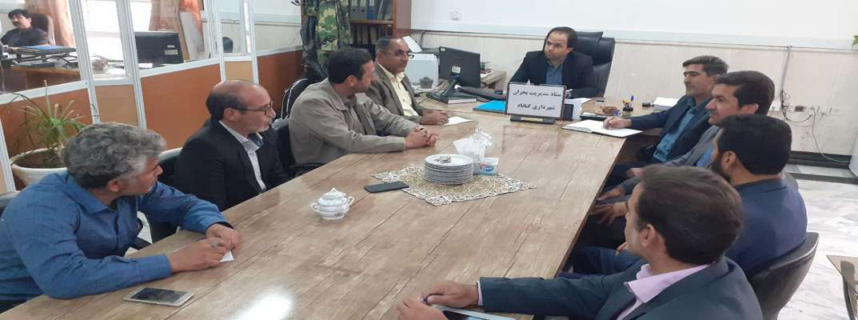 برگزاری جلسه ستاد بحران شهرداری گناباد