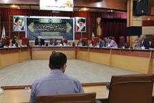 هفتادو يكمین جلسه کمیسیون حقوقی و املاک شورای شهر اهواز برگزار شد
