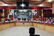 بیست و پنجمين جلسه كميسيون تحقيق،نظارت و بازرسي شوراي شهر اهواز برگزار شد