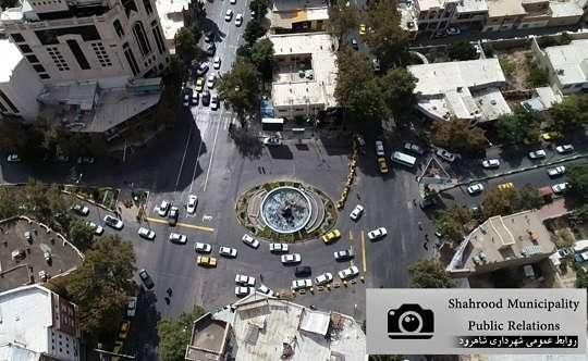 تردد ایمن شهروندان؛ بااقدامات ترافیکی درمیدان امام خمینی(ره)