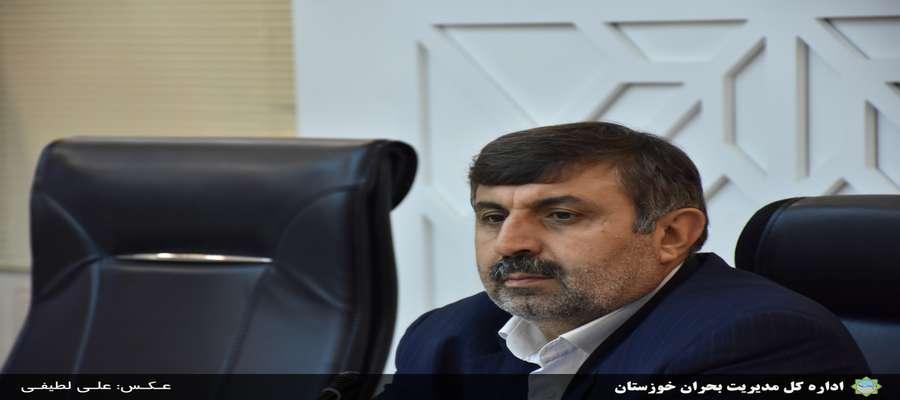 درپی بارش شدید باران و به دستور مدیر کل مدیریت بحران استان؛دستگاههای اجرایی خوزستان به حالت آماده باش درآمدند