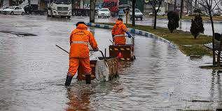 آماده باش 500 نیروی خدمات شهری در خصوص رفع آبگرفتگی های احتمالی