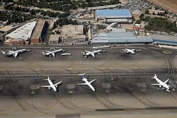 برقراری ۱۰ پرواز فوق العاده مهرآباد به مشهد