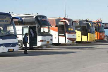 ۱۳۰۰ سفر اربعین از طریق حمل و نقل جاده ای همدان انجام شد