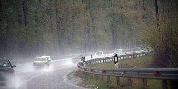 محدودیت ترافیکی در محورهای تهران-شمال/باران در برخی جادهها