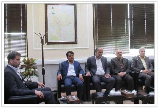 دیدار مدیرعامل برق منطقهای یزد با نماینده مهریز در مجلس/ اجرای سه پروژه برای تامین برق پایدار مشترکان شهرستان مهریز