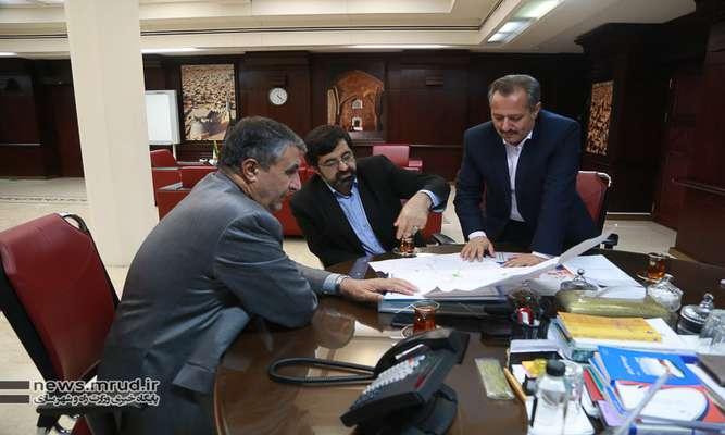 گزارش تصویری از دیدار وزیر راه وشهرسازی با استاندار اردبیل و مدیرکل راه و شهرسازی استان اردبیل