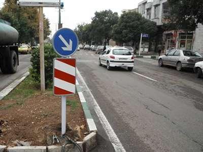 مناسب سازی و ایمن سازی معابر شهر قزوین ادامه دارد