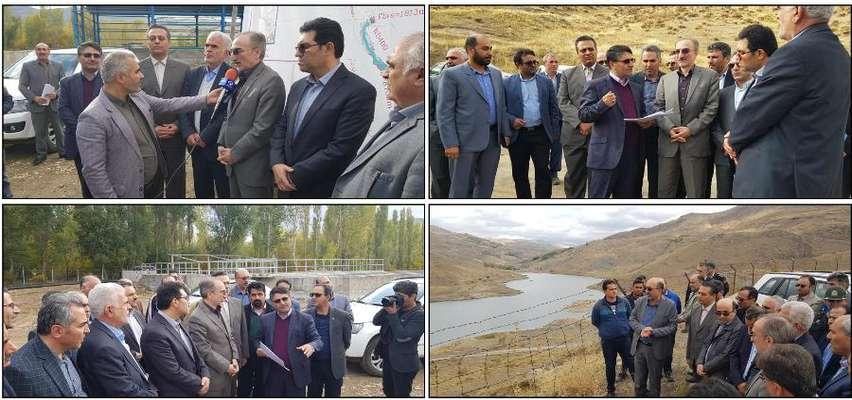 معاون آب و آبفای وزیر نیرو از پروژه های بخش آب جنوب استان...