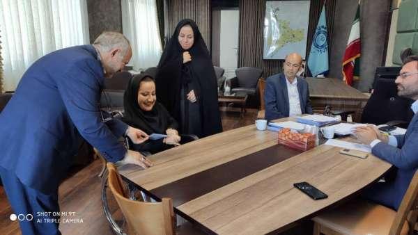 طی حکمی از طرف شهردار بناب؛ سرکار خانم زهرا محمدی به عنوان مشاور حقوقی توان یاب ها در امر مناسب سازی زیست شهر بناب انتخاب شد