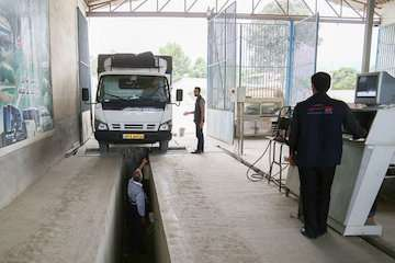مراجعه بیش از ۲۳ هزار ناوگان سنگین به مراکز معاینه فنی استان اردبیل