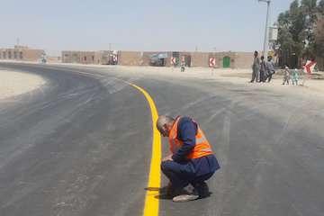 ۶ نقطه  پرحادثه در جادههای خراسان شمالی حذف میشود / ۱۰۰۰ کیلومتر راههای استان خط کشی سرد شد