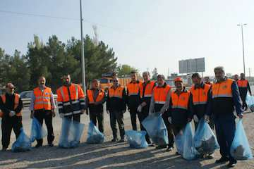 حضور فعال راهداران آذربایجان شرقی در طرح پاکسازی محیطهای خدماترسانی